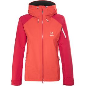 Haglöfs Roc Spirit Naiset takki , punainen